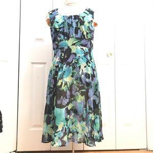 Dress Barn Floral dress 16